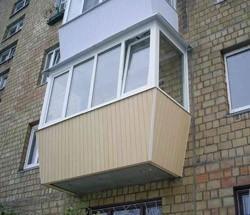 остекление балконов в Кстове