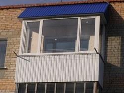 объединение кухни и балкона в Кстове