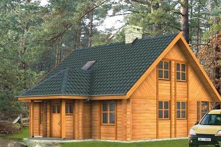 дома на основе деревянного каркаса г.Кстово